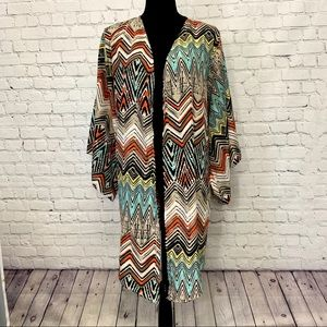 Fashion to Figure FTF Kimono Coverup Plus Size 2XL